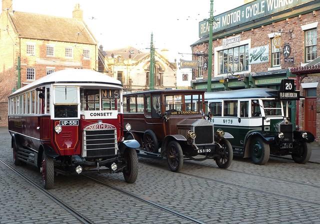 Vintage Bus Line-up