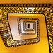 Staircase in historic Intercontinental Carlton Hotel in Cannes by hsadura