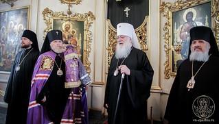Литургия в Покровском соборе 390