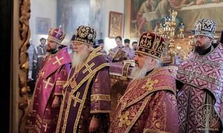 Литургия в Покровском соборе 230