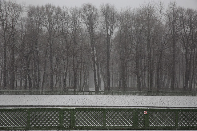 Russia, spring, April