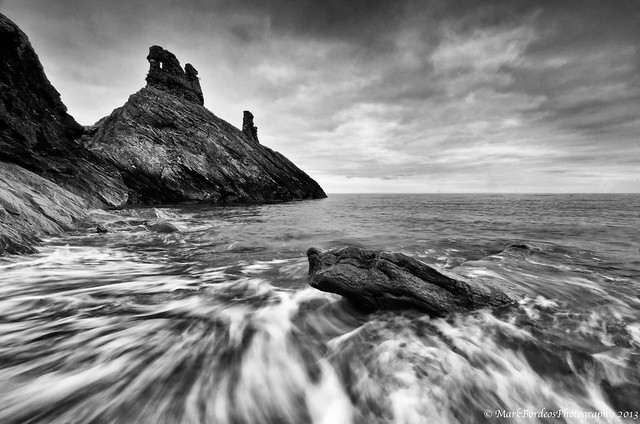 The Ruins of Viking's Black Castle
