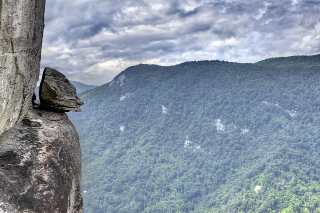 Devil's Head, Chimney Rock SP, Rutherford Co, NC