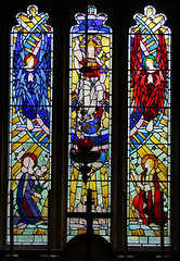 Christ in Majesty flanked by angels