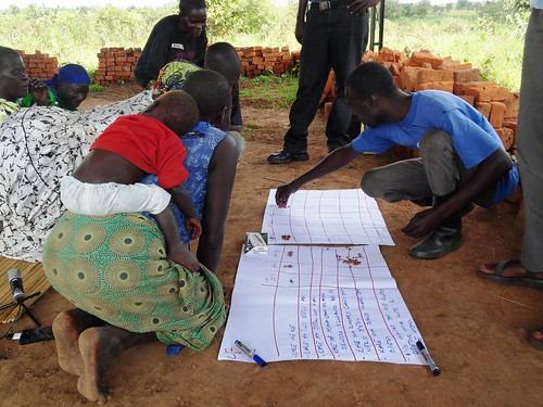 Sep/2009 - The project on 'assessing the impact of African Swine Fever in smallholder pig systems and the feasibility of potential interventions' recently began field work in Gulu district of Uganda (photo credit: ILRI/Erika Chenais).