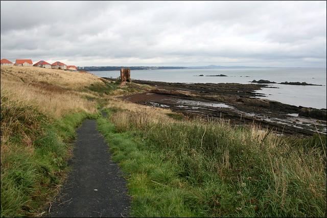 Approaching Kirkcaldy