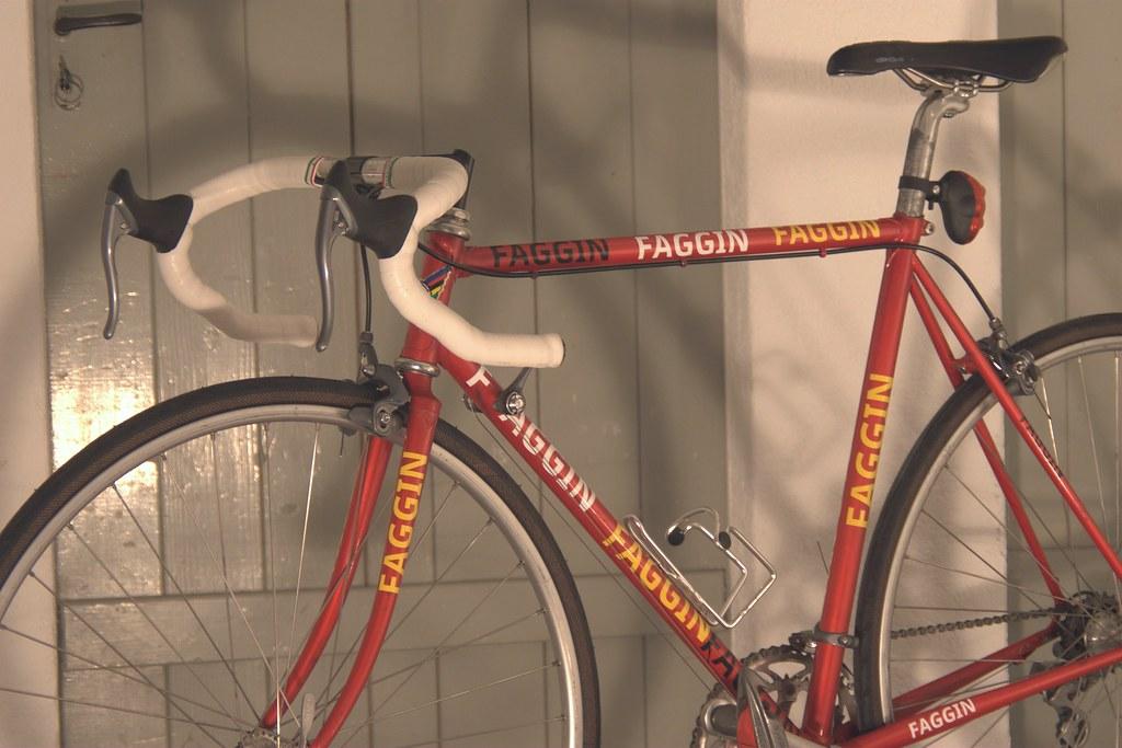 Faggin Pisa | F***in Pisa Steel Frame Winter Bike Shimano ...