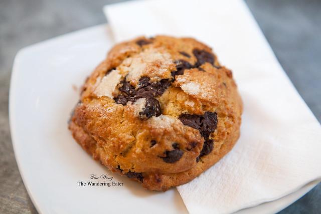 Chocolate raspberry scone