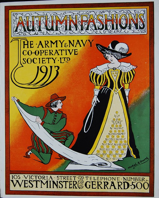 1913 Fall Fashions from the Army & Navy Co-operative Supply Ltd