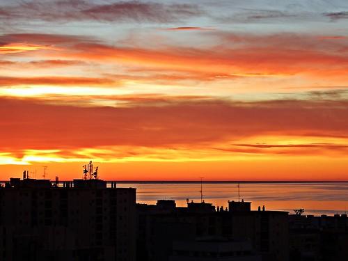 andalucia amanecer costadelsol cielo marbella málaga mar mediterráneo españa spain sunrise paisaje nubes nature naturaleza