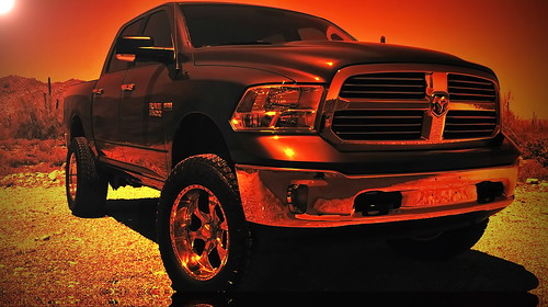 My new Dodge Ram in the White Tank Mountains | by marksontok