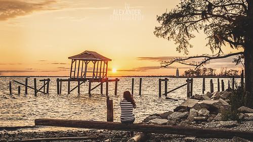 sunset lighthouse canon louisiana madisonville lakepontchartrain ef24105mmf4lisusm 5dmarkii tyalexanderphotography
