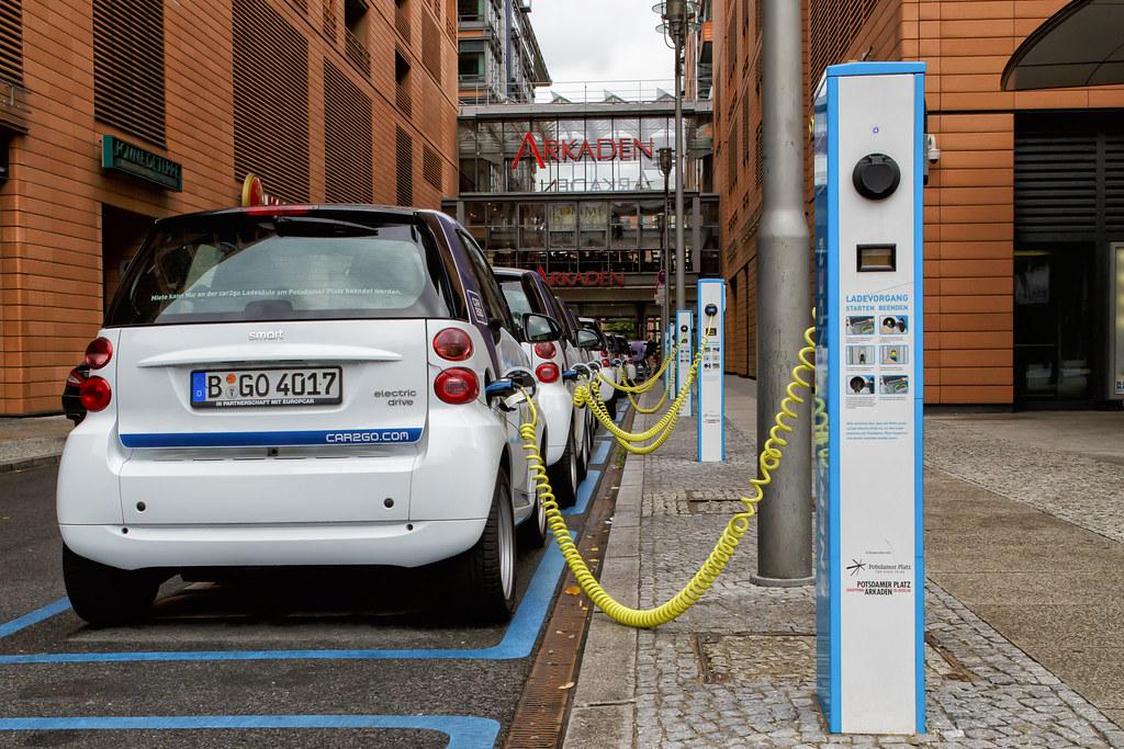 Berlin - Potsdamer Platz - E-Mobility-Charging