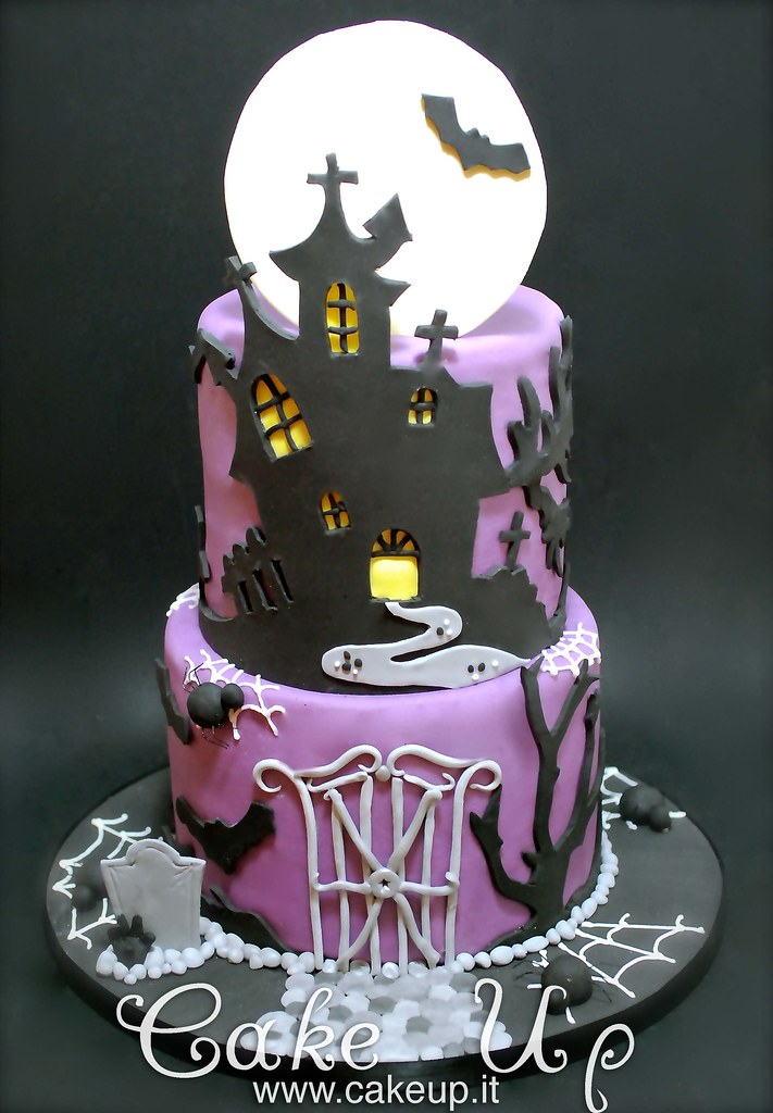 Castello Halloween.Torta Halloween Castello Stregato Cake Up Flickr