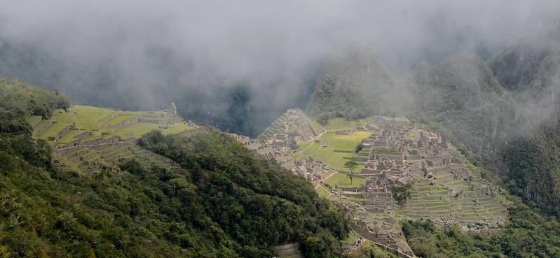 Misty Machu Picchu, Inca Trail, Peru