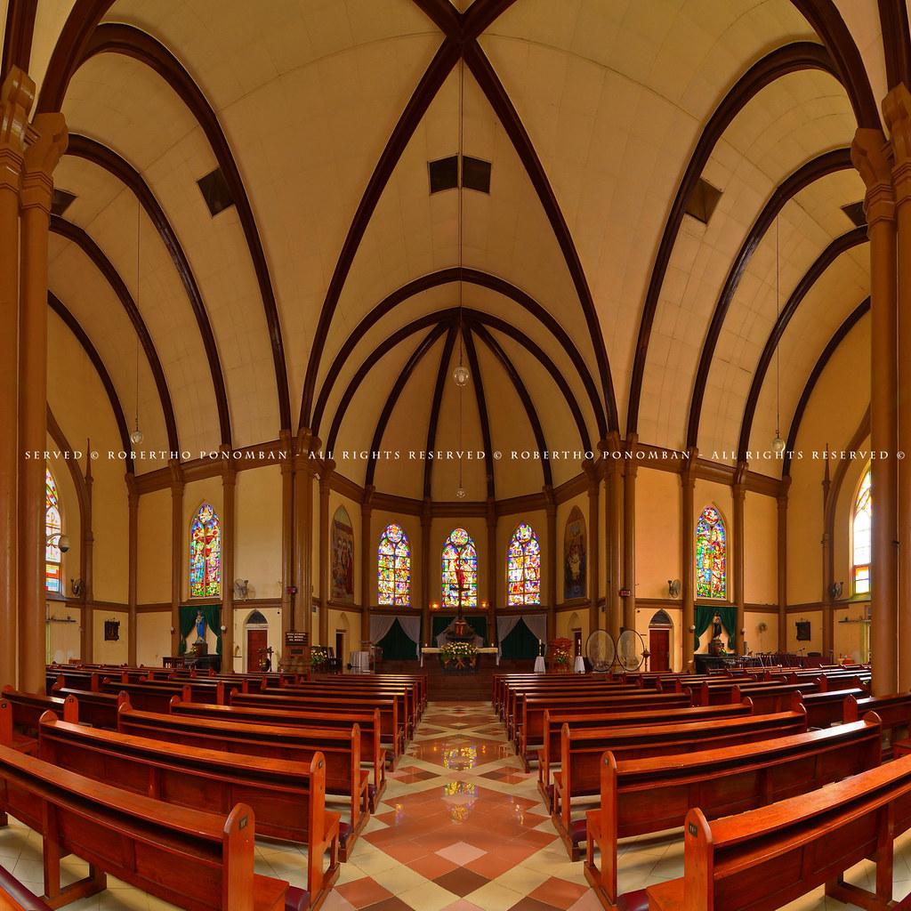 Gereja Katolik Kelahiran Santa Perawan Maria Surabaya Flickr