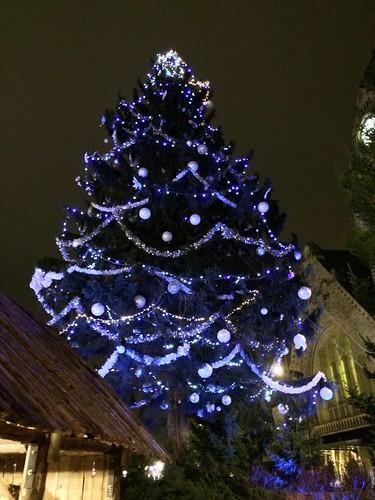 Gare Christmas tree