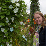 Emily in the Jardin des Plantes