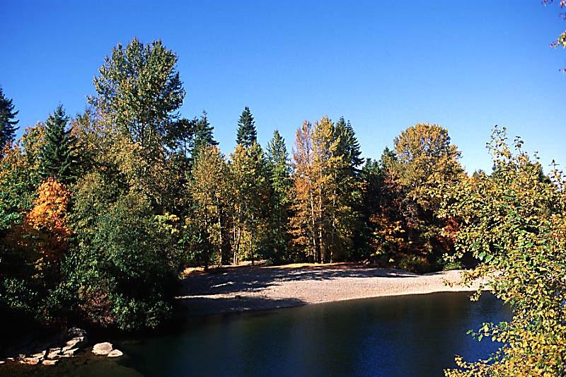 Nanaimo River, Nanaimo, Vancouver Island, British Columbia, Canada