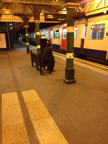 District Line D Stock at North Ealing | by trek123