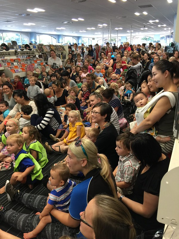 Audience for woodwind ensemble, Papanui Library