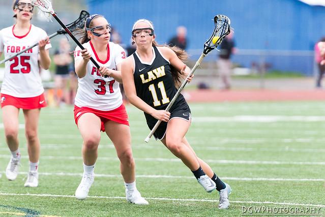 Jonathan Law vs. Foran High - High School Girls Lacrosse