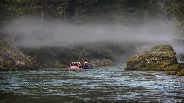 Calmness on the river