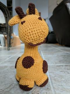April the Amigurumi Giraffe | by Terriko