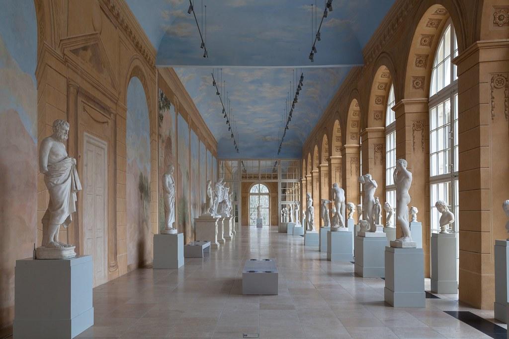 łazienki Królewskie The Royal Baths Stara Oranżeria Rez