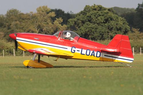 G-LOAD  Dan Rhin DR107 [PFA 267-13776] Sywell 030911