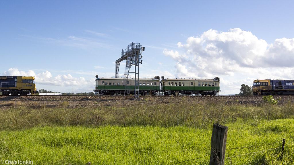 Railmotor Society CPH1 & CPH3 Maitland 8-4-17_001 by Chris Tonkin