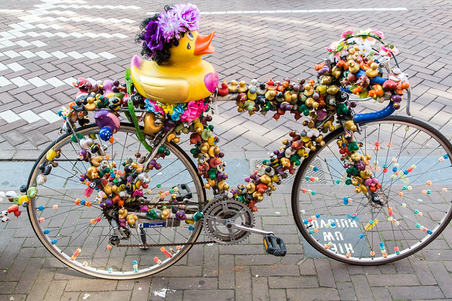 How to Recognize Your Bike in Amsterdam