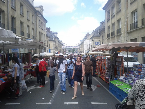 Rue Solferino pendant la braderie