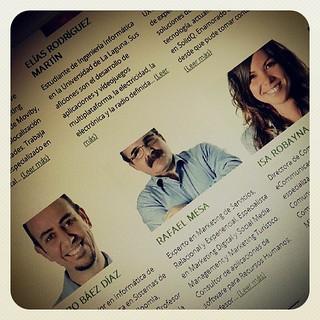 Nos vemos en la #TLP2k13 ??? El 19/07/2013 a las 16:00 en la sala abierta. Creatividad, innovación y cultura digital   by Pedro Baez Diaz @pedrobaezdiaz