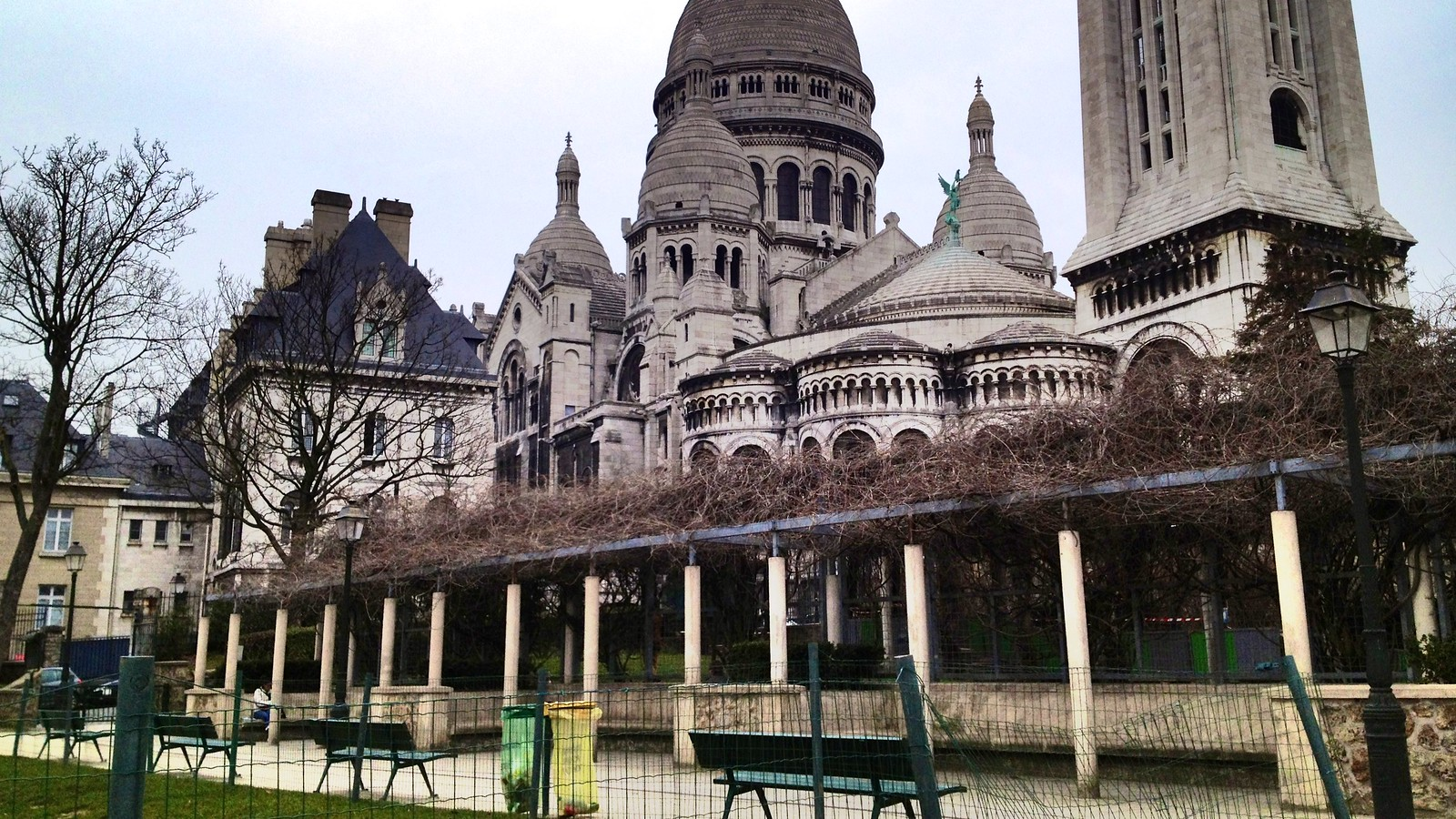 Square Marcel Bleustein-Blanchet (Parc de la Turlure), Montmartre, Paris