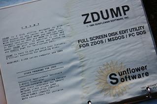 ZDUMP Sunflower Software   by Richard Masoner / Cyclelicious