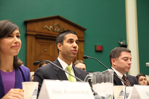 FCC Commissioner Ajit Pai. | by EnergyandCommerce