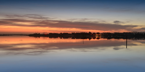 uk cold clouds sunrise reflections still nikon december post haylingisland peaceful hampshire calm lee nd filters grad southcoast tranquil d800 langstoneharbour sunsetsnapper firstlightwiderview