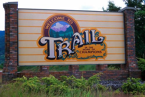 Trail, Kootenays, Kootenay Rockies, British Columbia, Canada