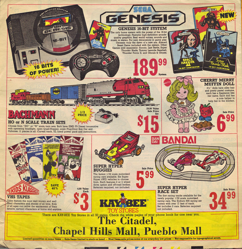 KAY•BEE TOY STORES :: Christmas in October pg.8  (( OCTOBER,8 1989 )) by tOkKa
