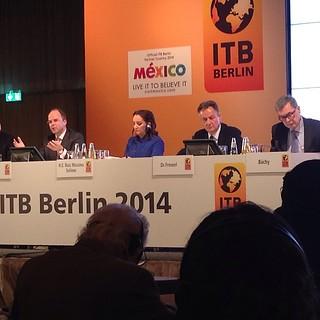 ITB Berlin Eröffnungs-PK #ITBBerlin @itb_berlin   by GAP089