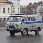 Transsibérien - Les bagnoles russes - UAZ