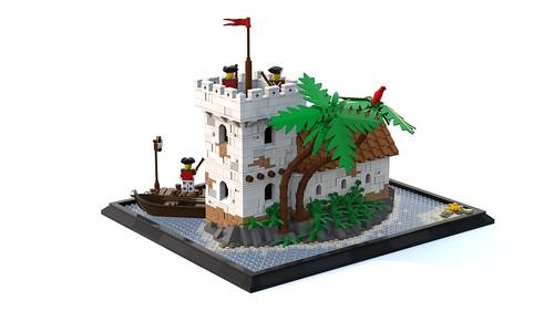 Crabber's Island (back)