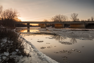 last of the river ice | by Christian Collins