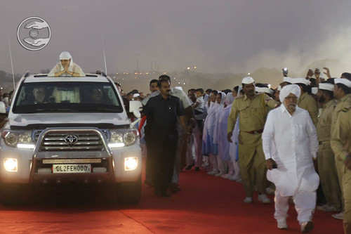 Arrival of Her Holiness