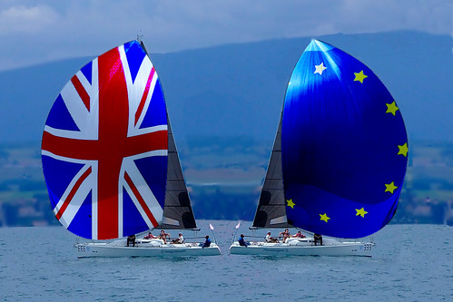 Brexit sailing apart - bon voyage | by muffinn