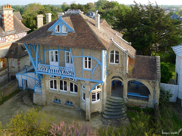 Villa La Bluette à Hermanville sur Mer (Calvados-FR)