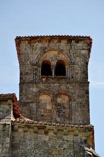 Jaramillo Quemado (Burgos). Iglesia de San Martín Obispo. Torre