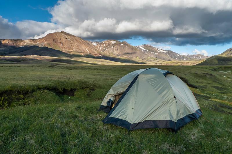 Camping near Alftavatn