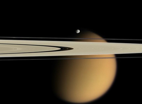 NASA's Cassini Spacecraft Finds Ingredient of Household Plastic in Space